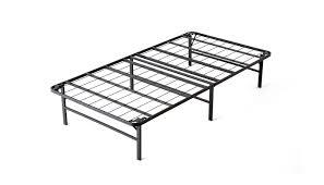 Heavy Duty Platform Bed Frames Bi Fold Metal Bed Frame Bedroom Furniture Intellidream