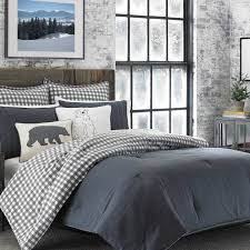 Eddie Bauer Rugged Plaid Comforter Set Eddie Bauer Kingston 100 Cotton 2 Piece Reversible Comforter Set