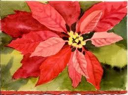 painting poinsettias susie short u0027s watercolor christmas cards