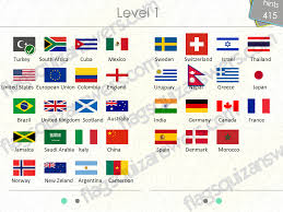 flags quiz answers level 1