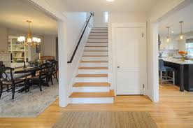 Laminate Flooring In Doorways Sopo Cottage Gracious Gambrel First Floor Before And After