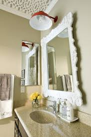 Bathroom Mirror Design Ideas by Awesome Decorative Bathroom Mirrors Pertaining To House Design