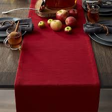 crate and barrel table runner grasscloth 90 ruby red table runner reviews crate and barrel