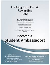 Job Guide Resume Builder by 100 Tour Guide Resume Help Wanted Student Ambassadors U2013