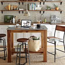 rustic kitchen islands rustic kitchen island west elm