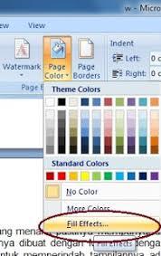 cara membuat tulisan watermark di excel cara memberi background pada ms word yang menarik tips belajar ms