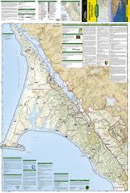 Map Mas Ios Mount Tamalpais Point Reyes National Geographic Trails