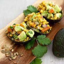 Yam Thanksgiving Recipes Avocado And Roasted Yam Fall Ensalada Muy Bueno Cookbook