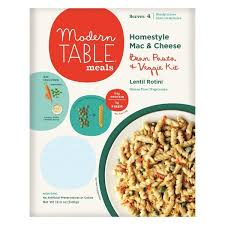 modern table mac and cheese modern table meals homestyle mac cheese lentil rotini 12 oz