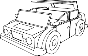 cartoon car drawing cartoon car jeep coloring page wecoloringpage