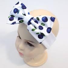 bow headband kids cotton bow headband blueberry babypanda fi
