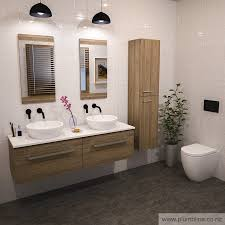 Double Vanity With Tower Double Vanities For Bathroom Beautiful Home Design