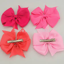 toddler hair bows aliexpress buy diy high quality grosgrain ribbon hair bows