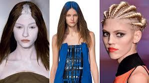 perisian hair styles parisian catwalk hairstyles unexpected creative suggestions