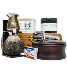 Old Fashioned Shave Kit Amazon Com Ultimate Shaving Kit Set With Organic Shaving Soap