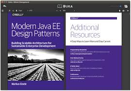 buka an excellent ebook management for linux