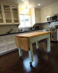 diy kitchen island on wheels kenangorgun com