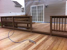 Longest Lasting Cedar Deck Stain by Deck Staining U0026 Sealing Chesapeake Tidewater Painting