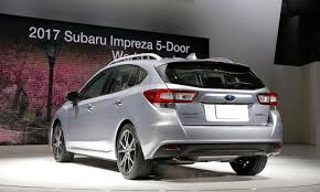 custom subaru hatchback lumps and punches what people are saying about subaru u0027s 2017 impreza