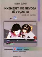 Author: Naser Zabeli. Publisher: Kosova Education Center. Prishtina, October 2001, 58 pages - botime_001
