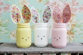 jar vases fabric and felt bunny jar vases lil