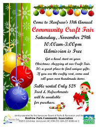 christmas craft fairs vancouver bc 2014 christmas craft fairs 2017