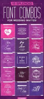 designmantic affiliate font combos for wedding invites designmantic the design shop