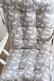 Padding For Rocking Chair Best 25 Recover Glider Cushions Ideas On Pinterest Recover