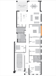 Floor Plans For Narrow Blocks by Hamilton Floorplans Mcdonald Jones Homes