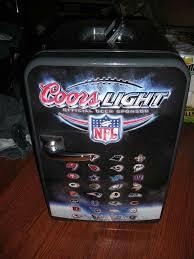 coors light beer fridge coors light nfl mini fridge sports outdoors in los angeles ca