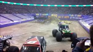 denver monster truck show grave digger monster jam pepsi center 2 8 2014 youtube