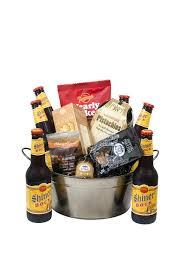 Beer Gift Basket Medium Shiner Bock Beer Basket Marvels Florist Killeen Tx