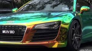 pink audi r8 audi r8 chrome awesome rainbow 2017 audi r8 krom fantastisk