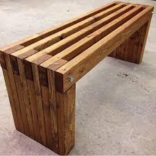 excellent best 25 wooden garden benches ideas on