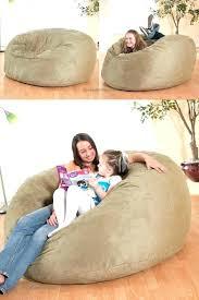 big bean bag chair micro suede theater sack bean bag chair