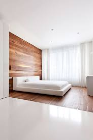 All White Bed Modern Moscow Apartment With All White Interior By Alexandra