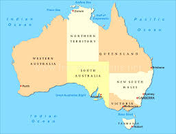 australia map of cities map of australia with capital cities and states how many in