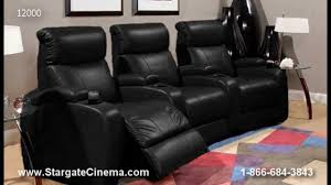 home theater seats berkline home theater seating from stargate cinema youtube