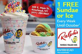 twenty five weeks of ralph s italian ices of riverhead