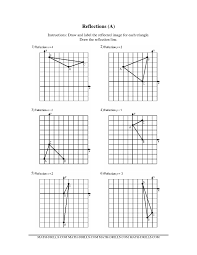 reflections math worksheet free worksheets library download and
