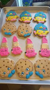 shopkins cookies lippy lips cupcake queen and kooky cookie my