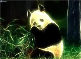 imagenes abstractas hd de animales panda animales de fractal 170149 jpg