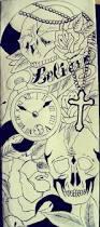 leg tattoo sleeve sketch by abbie ox on deviantart