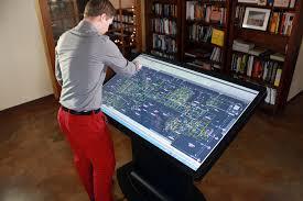 Custom Drafting Tables Platform 55 Multitouch Drafting Table The Platform 55 Mult Flickr