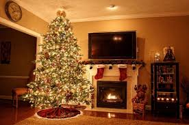 beautiful beautifully decorated trees on decoration with