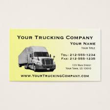 trucker business cards templates zazzle