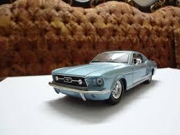 sky blue mustang 1967 sky blue ford mustang gt maisto front quarter flickr