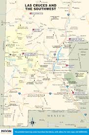 Southwest Route Map by Printable Travel Maps Of New Mexico Moon Travel Guides