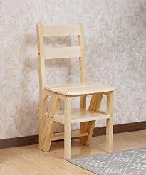 leiter f r treppe de zengai massivholz stuhl leiter klapp treppe stuhl
