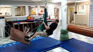 kids ninja warrior obstacle course swing challenge youtube